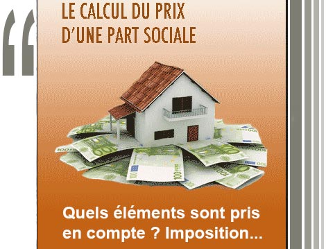 Evaluation DUne Part Sociale De Sci En Cas De Revente Cession